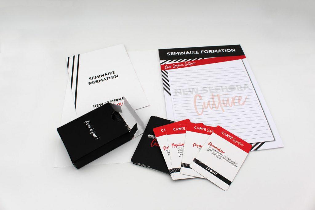 Kitage Sephora logistique - Cloître Imprimeur