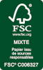 Logo certification FSC