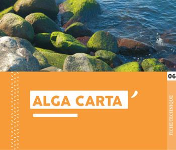 """Fiche technique """"Alga Carta"""" - Cloître Imprimeur"""