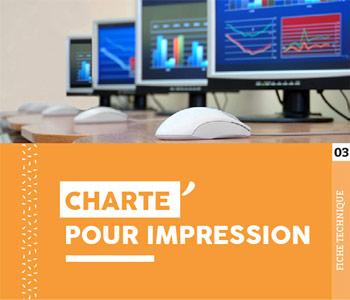 """Fiche technique """"Charte pour l'impression"""" - Cloître Imprimeur"""