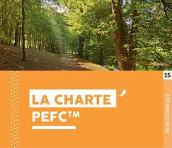 """Fiche technique """"Charte PEFC"""" - Cloître Imprimeur"""