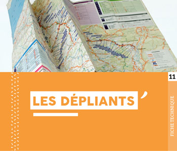"""Fiche technique """"Les dépliants"""" - Cloître Imprimeur"""