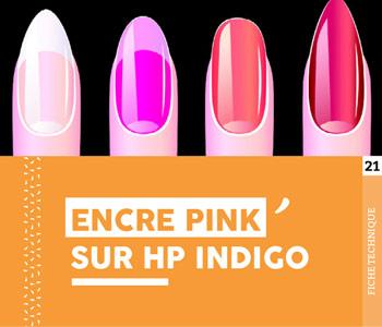 """Fiche technique """"Encre PINK sur HP Indigo"""" - Cloître Imprimeur"""