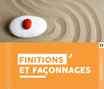 """Fiche technique """"Finitions & Façonnages"""" - Cloître Imprimeur"""