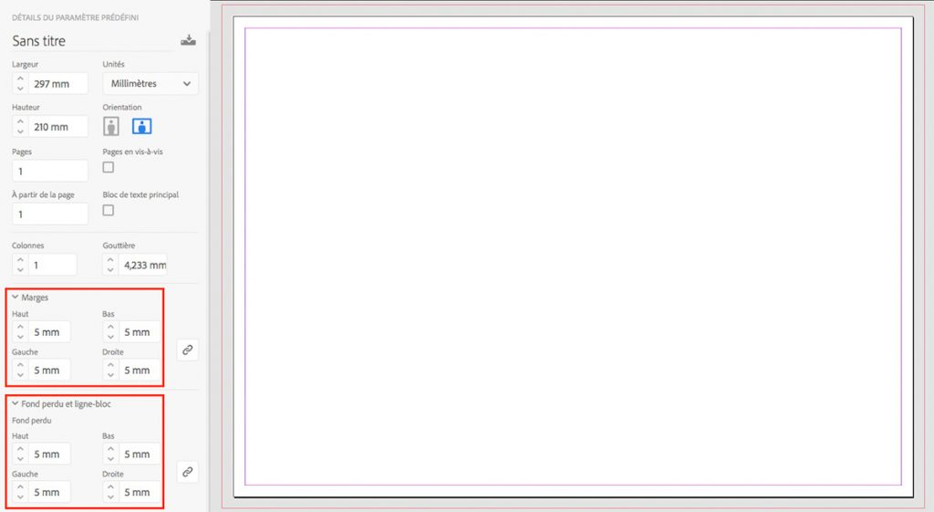 Paramétrage fond perdu sur InDesign - Blog Cloître Imprimeur