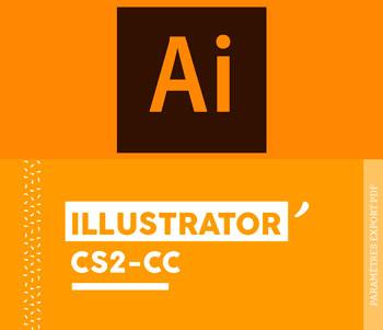 Paramètres d'exportation PDF pour Illustrator CS2 CC - Cloître Imprimeur