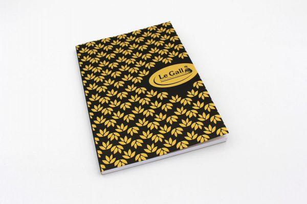 Carnet de notes Le Gall avec effet doré - Cloître Imprimeur