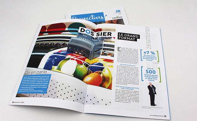 """Dossier """"Grand Format"""" du magazine Perspectives - Article blog Cloître Imprimeur"""