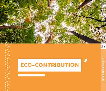 """Fiche technique """"L'éco-contribution"""" - Cloître Imprimeur"""